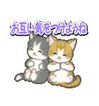 梅雨~夏 もこもこ猫ちゃんズ(個別スタンプ:28)