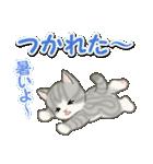 梅雨~夏 もこもこ猫ちゃんズ(個別スタンプ:32)