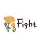 大人の女性♡お花のコンパクトスタンプ(個別スタンプ:21)