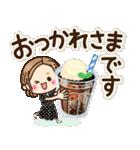 大人女子の日常【夏・気づかい】(個別スタンプ:6)