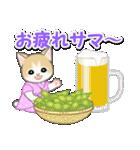 甚平さん猫ちゃんズ(個別スタンプ:5)