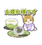 甚平さん猫ちゃんズ(個別スタンプ:7)