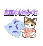 甚平さん猫ちゃんズ(個別スタンプ:8)