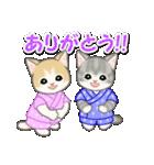 甚平さん猫ちゃんズ(個別スタンプ:13)