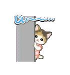 甚平さん猫ちゃんズ(個別スタンプ:25)