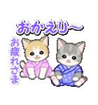甚平さん猫ちゃんズ(個別スタンプ:36)