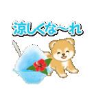 赤ちゃん豆柴と夏スイーツ(個別スタンプ:6)