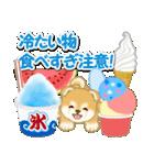 赤ちゃん豆柴と夏スイーツ(個別スタンプ:11)