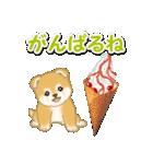赤ちゃん豆柴と夏スイーツ(個別スタンプ:23)