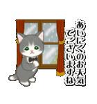 執事猫ちゃん(個別スタンプ:4)
