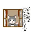 執事猫ちゃん(個別スタンプ:16)