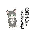 執事猫ちゃん(個別スタンプ:19)