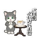 執事猫ちゃん(個別スタンプ:20)