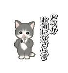 執事猫ちゃん(個別スタンプ:29)