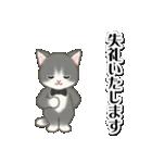 執事猫ちゃん(個別スタンプ:39)