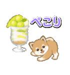 小豆柴の夏(個別スタンプ:32)