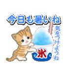 ちび猫の夏(個別スタンプ:5)