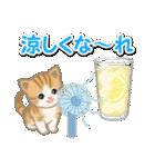 ちび猫の夏(個別スタンプ:6)