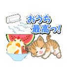 ちび猫の夏(個別スタンプ:7)