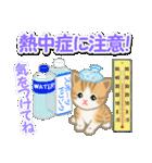 ちび猫の夏(個別スタンプ:12)