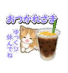 ちび猫の夏(個別スタンプ:18)