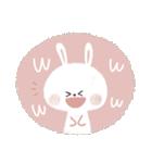 ♡白い動物達♡毎日スタンプ♡(個別スタンプ:7)