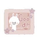 ♡白い動物達♡毎日スタンプ♡(個別スタンプ:8)