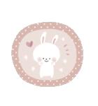 ♡白い動物達♡毎日スタンプ♡(個別スタンプ:22)