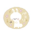 ♡白い動物達♡毎日スタンプ♡(個別スタンプ:24)