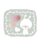 ♡白い動物達♡毎日スタンプ♡(個別スタンプ:26)