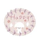 ♡白い動物達♡毎日スタンプ♡(個別スタンプ:29)