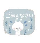 ♡白い動物達♡毎日スタンプ♡(個別スタンプ:35)