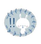 ♡白い動物達♡毎日スタンプ♡(個別スタンプ:40)