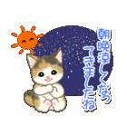 夏~秋 もこもこ猫ちゃんズ(個別スタンプ:10)