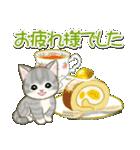 夏~秋 もこもこ猫ちゃんズ(個別スタンプ:29)
