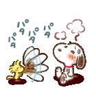 Honobono×スヌーピー(個別スタンプ:9)