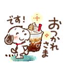 Honobono×スヌーピー(個別スタンプ:13)