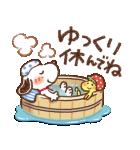 Honobono×スヌーピー(個別スタンプ:15)