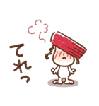 Honobono×スヌーピー(個別スタンプ:24)