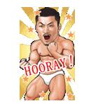 筋肉ひげマッチョBIGスタンプ~英語~(個別スタンプ:30)