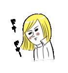 BROWN & FRIENDS×滝永さるりの女の子(個別スタンプ:27)
