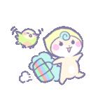 リスの松子とインコのミーバウ(個別スタンプ:4)