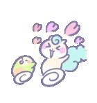 リスの松子とインコのミーバウ(個別スタンプ:7)