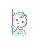 リスの松子とインコのミーバウ(個別スタンプ:30)