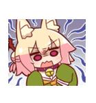 ケモミミちゃんスタンプ2(個別スタンプ:2)