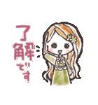 ♡使える♡可愛い♡大人ガーリー(個別スタンプ:10)