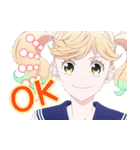 TVアニメ「かげきしょうじょ!!」(個別スタンプ:1)