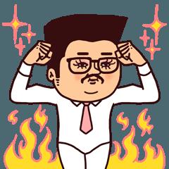 [LINEスタンプ] ぷりてぃマダムおじさん/敬語