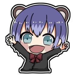 [LINEスタンプ] ゲマフレ!-めろくろ編-
