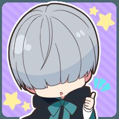 [LINEスタンプ] 闇男子-ミニver.-4